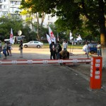 Акция протеста возле Лукьяновской тюрьмы