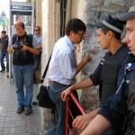 Попасть в Печерский суд Киева можно только имея пропуск