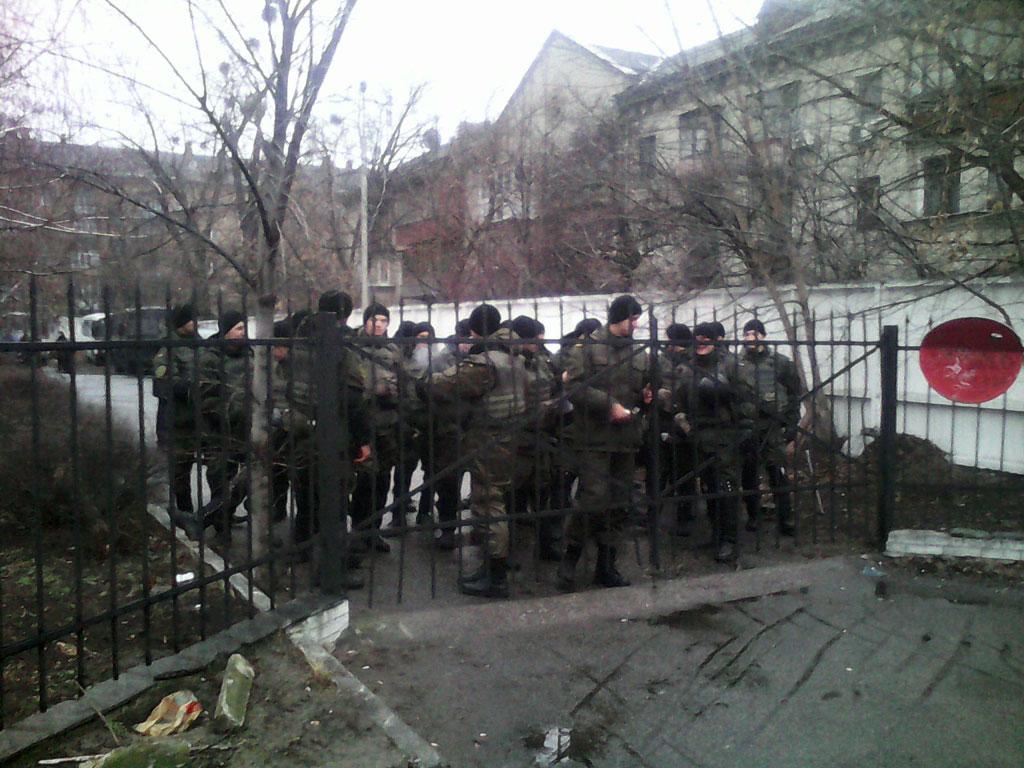Стражники диктатуры Порошенко