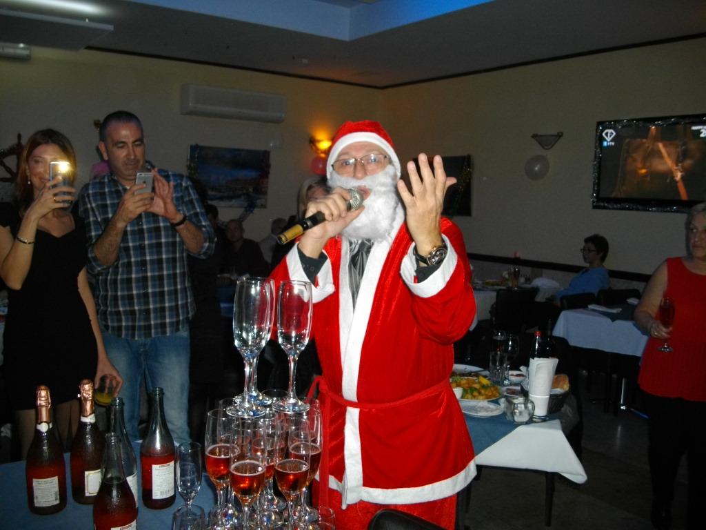 Дед Мороз в Яффе