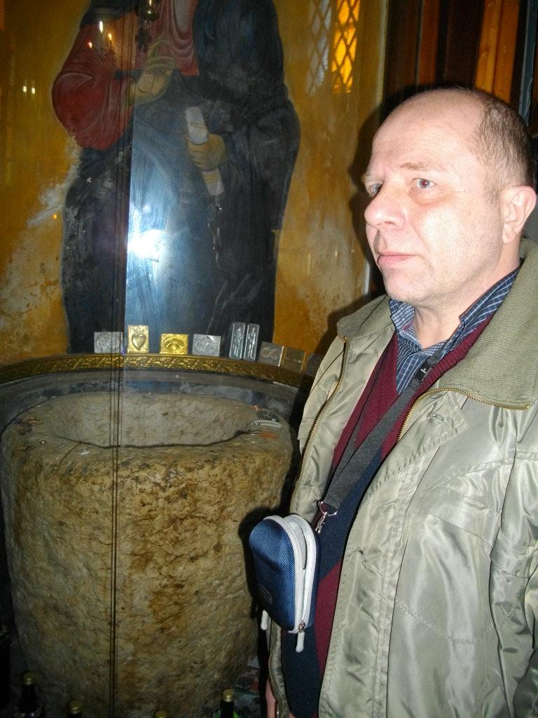 Сосуд, в котором Христос превратил воду в вино