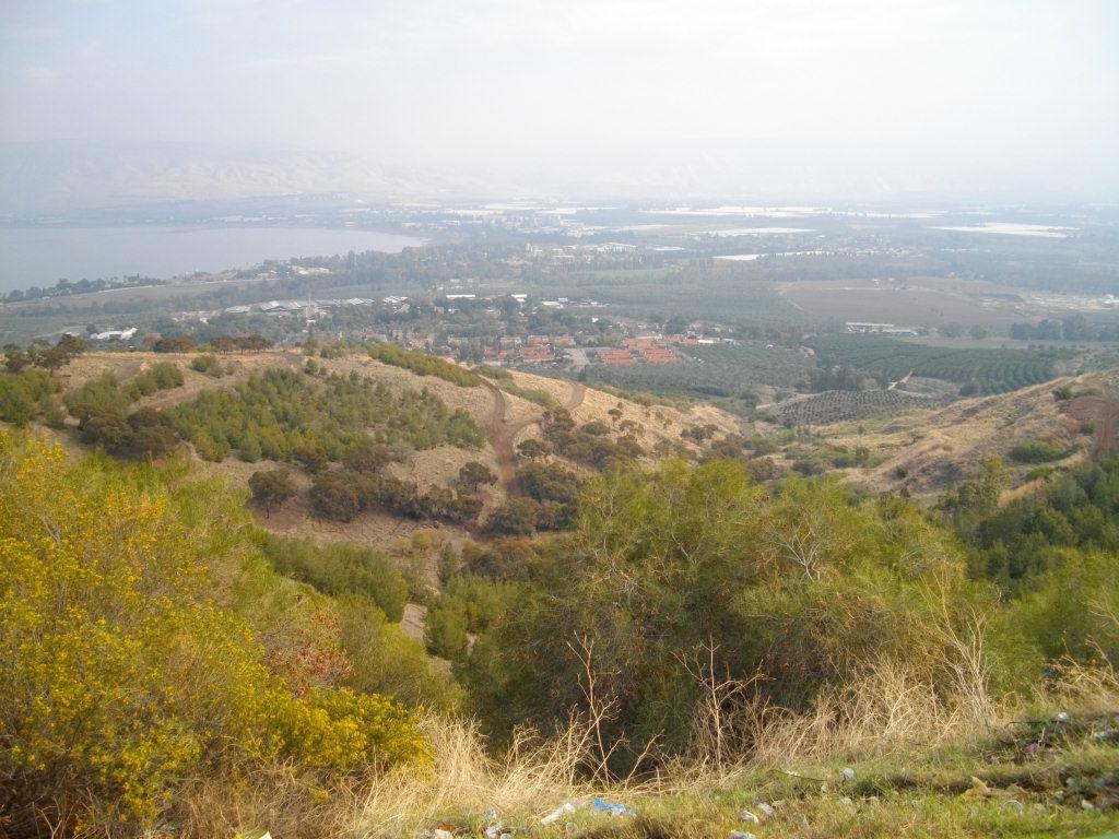 Галилейское море и долина