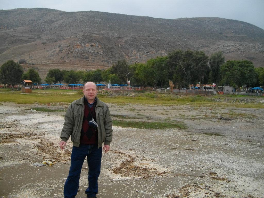 Я на берегу Галилейского моря