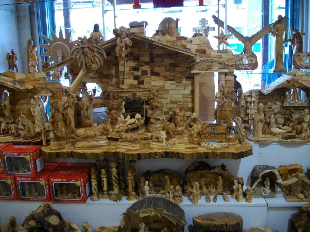 Магазин сувениров в Вифлееме