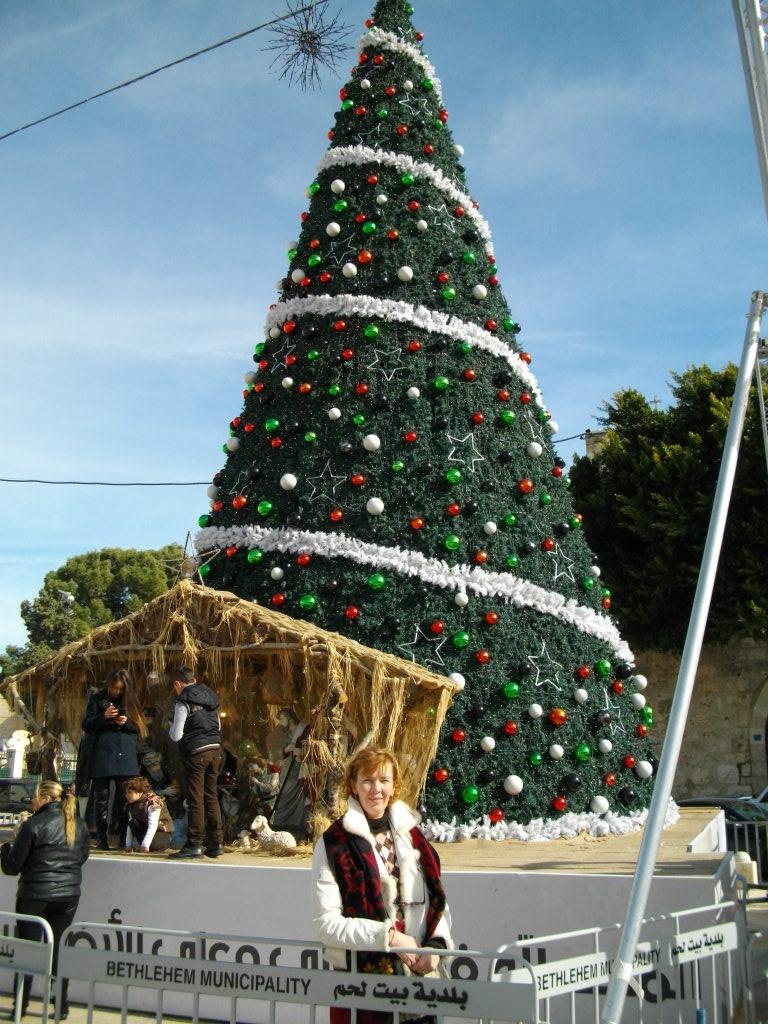 Рождественская елка в Вифлееме