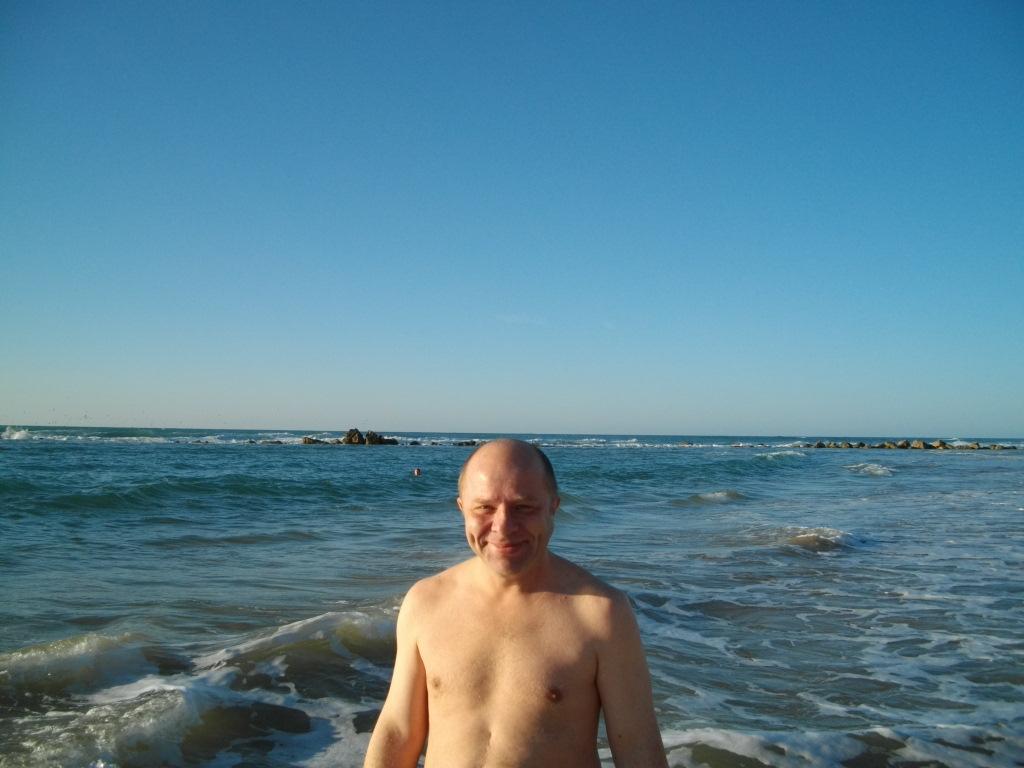 Я на пляже в Бат-Яме