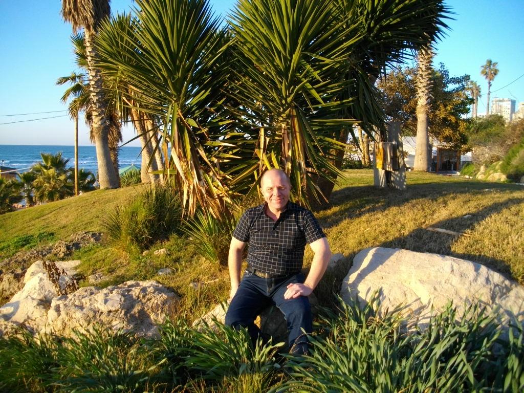 Я на берегу Средиземного моря в Бат-Яме