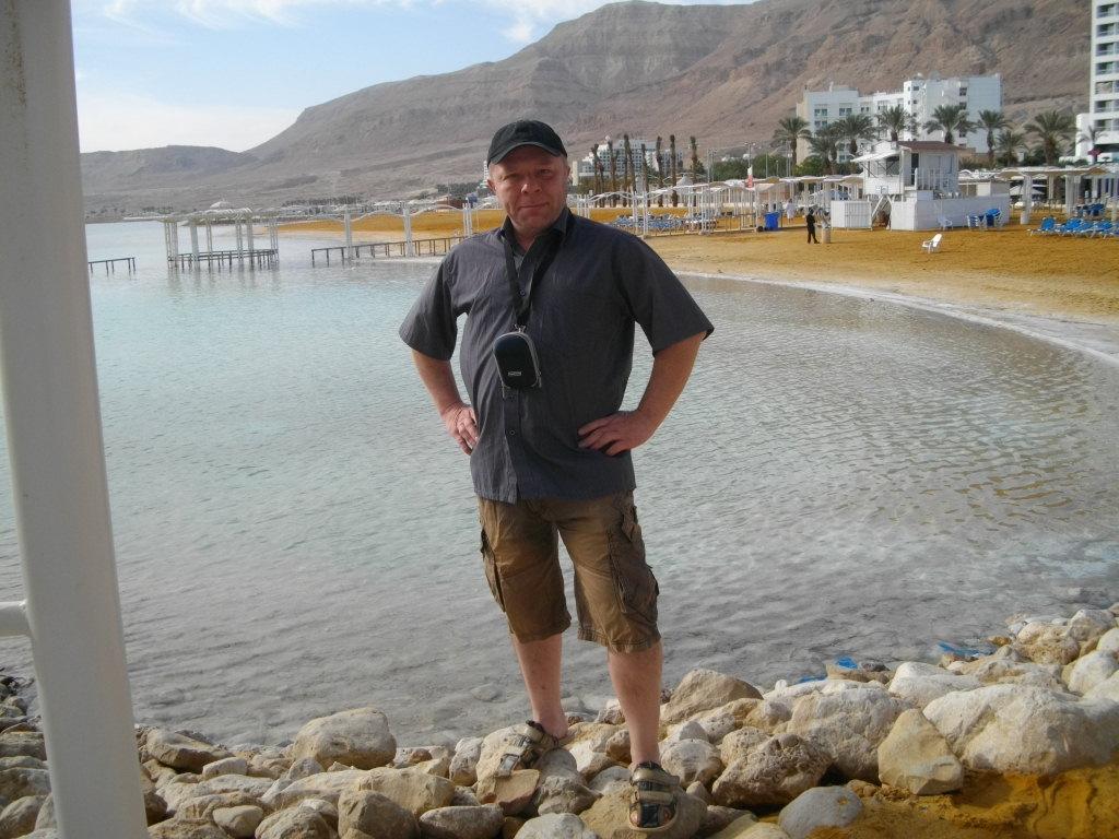 Я стою на берегу Мертвого моря