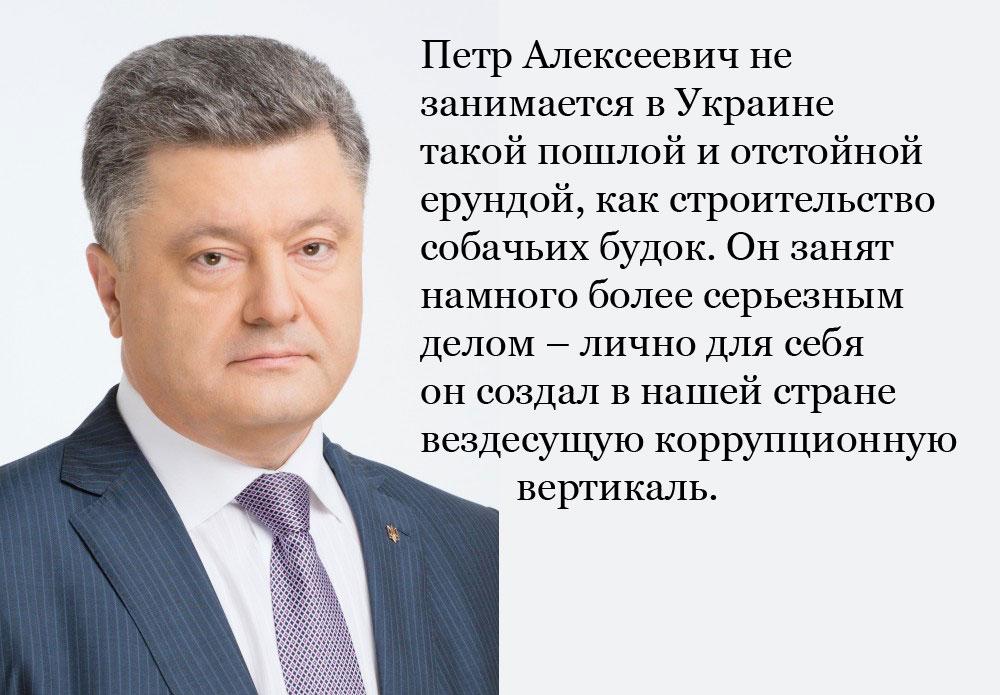 Петр Порошенко. Чего он добивается в Украине?