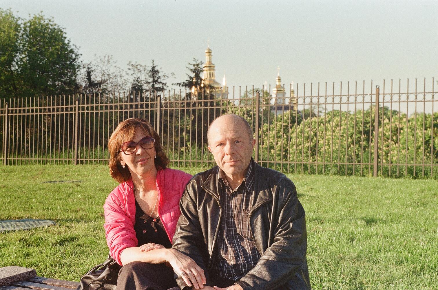 Юрий Павленко и Анна Носова на Певческом поле