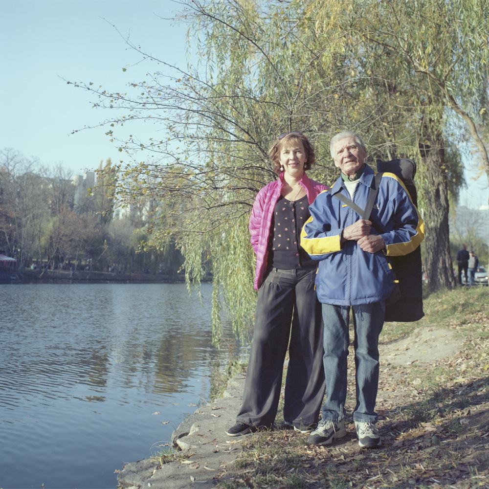 Анна Носова и Юрий Цасюк