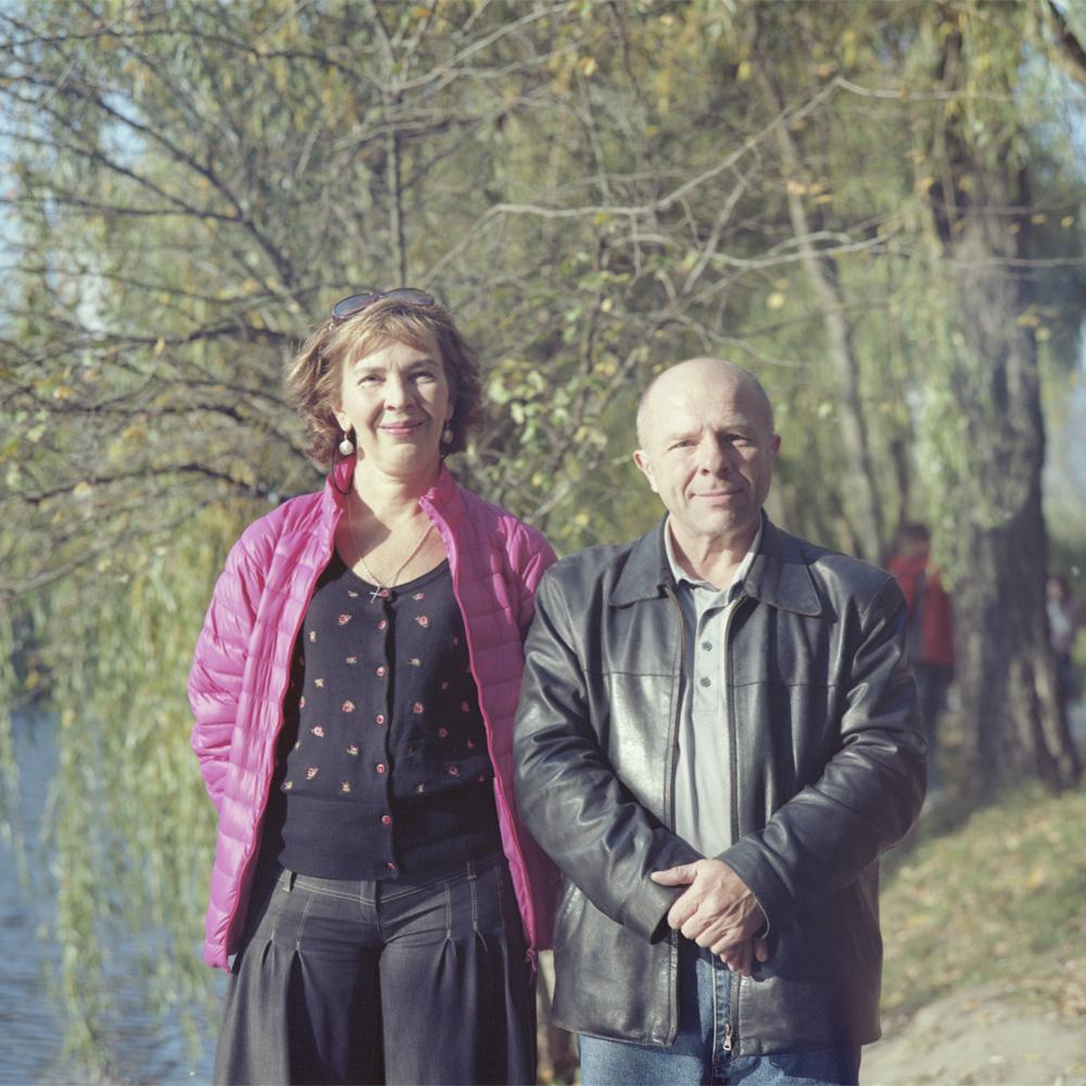 Анна Носова и Юрий Павленко